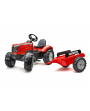 Tractor-a-pedales-MAssey-Ferguson-8740S-con-remolque-4010AB-Falk-Agridiver