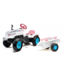Tractor-a-pedales-Butterfly-Farmer-con-remolque-2042AB-Agridiver-Falk
