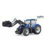 Tractor-juguete-New-Holland-T7315-pala-03121-Bruder-Agridiver