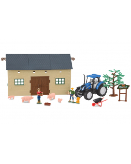 Granja-set-1-tractor-New-Holland-T5.120-460532-Jamara-Agridiver