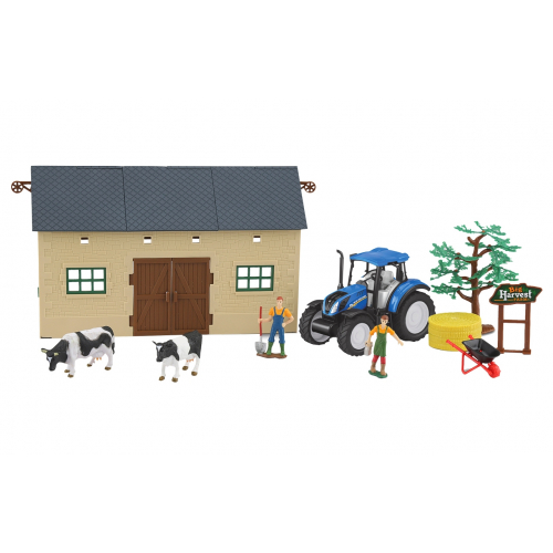Granja-set-2-tractor-New-Holland-T5.120-460533-Jamara-Agridiver