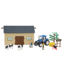 Set de granja 2 con tractor New Holland T5.120