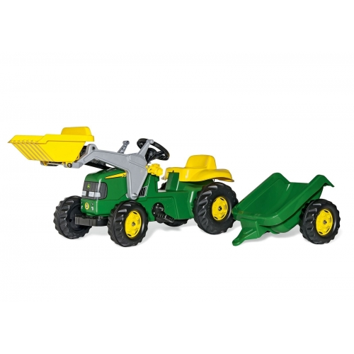 Tractor a pedales John Deere Rollykid-023110-Rolly Toys-Agridiver